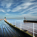 Whitby Piers by Smart Aviation