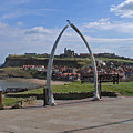 Whitby Whale Bone Arch  by Rod Johnson