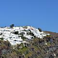 White Architecture In The City Of Oia In Santorini, Greece by Oana Unciuleanu