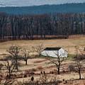 White Barn by David Arment