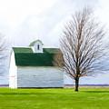 White Barn by Lori Dobbs
