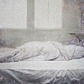 White Bed Sheet- Warmth by Tuck Wai Cheong