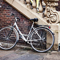 White Bicycle by Jean Noren