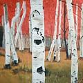 White Birches by Betty-Anne McDonald