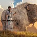 White Buffalo Calf Woman by Daniel Eskridge