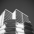 White Building To The Sky In Oahu Hawaii by Ryan Kelly