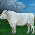 White Bull by Anna Folkartanna Maciejewska-Dyba