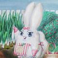 White Bunny by Viktoriia Popova