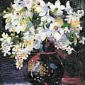 White Celebration by Nira Schwartz