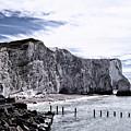 White Cliffs Of Seaford by Toula Mavridou-Messer