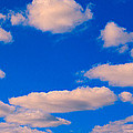 White Clouds In Blue Sky by Panoramic Images