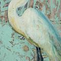White Crane by Billie Colson