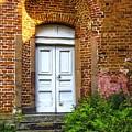 White Door by Roberta Bragan
