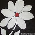 White Flower by Rusty Woodward Gladdish