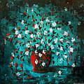 White Flowers 2 by Gina De Gorna