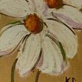 White Flowers by Katherine Cobb