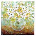 White Flowers by Lynda McLaughlin
