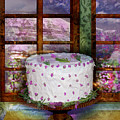 White Frosted Cake by Mary Ogle and Miki Klocke