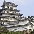 White Heron Castle - Himeji City Japan by Daniel Hagerman