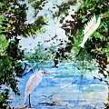 White Herons by Marilyn Brown