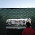 White House Fence Washington Dc by Thomas Michael Corcoran