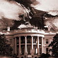White House Washington Dc by Gull G