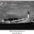 White Island Lighthouse by Rick Blood