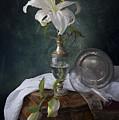White Liliums by Giovanni Allievi
