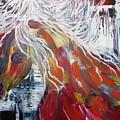 White Mane by Maritza Bermudez