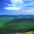 White Mountain Leafout From Franconia Ridge by John Burk