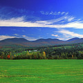 White Mountains From Route 2 by John Burk