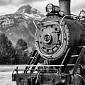 White Pass Railway Engine 73 by Dawn Currie