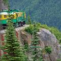 White Pass Train Alaska - Canada by Carol  Eliassen