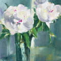 White Peonies by Beverly Brown