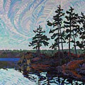 White Pine Island by Phil Chadwick