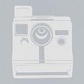 White Polaroid Camera by Naxart Studio