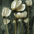 White Poppies by Ben Potter