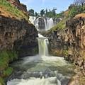 White River Falls B by Jesus Maldonado