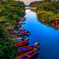 White River Jamaica by Lechmoore Simms