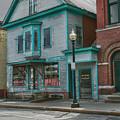 White River Junction Street by Jeff Folger