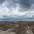 White River Valley Overlook Panorama 2  by Michael Ver Sprill