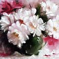 White Roses by Kristina Kalcheva
