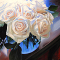 White Roses by Rebecca Zook