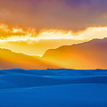 White Sands Sunset 2 by Stephen Whalen