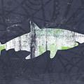 White Shark- Art By Linda Woods by Linda Woods