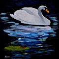 White Swan by Dick Heberly