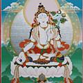 White Tara Chintamani Sita Tara by Sergey Noskov