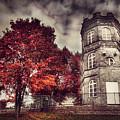 White Tower Of Autumn by Sandra Rugina