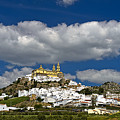 White Town Of Olvera, Andalusia, Spain by GFC Collection