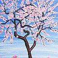 White Tree, Painting by Irina Afonskaya